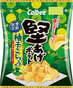 堅あげポテト 柚子こしょう味