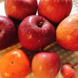 りんごと2年前のいちょう並木