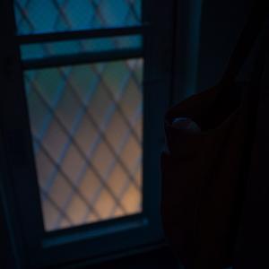 メロン色の窓