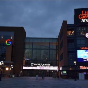 初めて見たNBA Detroit Pistons vs Cleveland Cavaliers