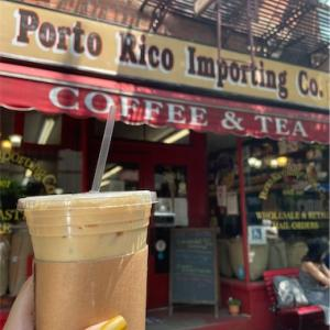NYで歴史のあるコーヒー屋さん「Porto Rico Importing Co.」♫
