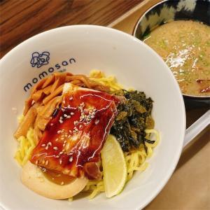 [NYラーメン]momosan(ももさん)で久しぶりのつけ麺♫