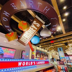 [NY観光にも]タイムズスクエア・ハーシーズチョコレートワールド、そして期間限定観覧車♫