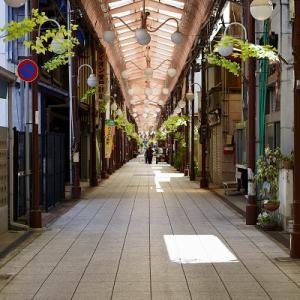 京都府福知山市新町商店街