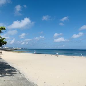 沖縄11月中旬のお天気は半袖短パンでまだいけます!