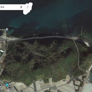 鳴門市内の海岸沿いを散歩した