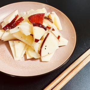 セロリの簡単レシピ セロリとりんごのサラダ