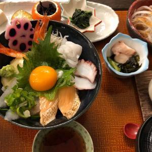 【食】淡路島のサンライズ淡路で海鮮丼