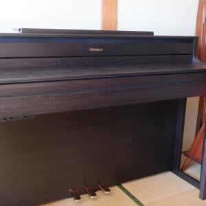 【レビュー記事】電子ピアノ Roland ローランド / HP704 がやって来た♪