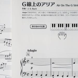 実際に楽譜「ピアノソロ 大人のためのかんたん! すぐ弾ける! ピアノで弾く定番ベスト60 ~花は咲く~」に取り組んでみた。