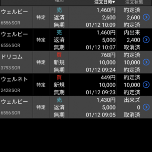 本日デイトレ、週トレ成功 微益 朝含み益は746万円