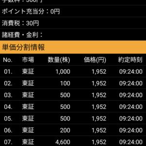 IPO銘柄で儲けるも決算マタギで損失 日経平均株価は498円安 口座内資産は昨日より4500万円に減る 7月30日、金曜日