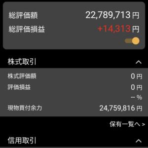 JT,スズデン売って11万円の損 10月21日、木曜日