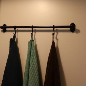 使用済みバスタオル、洗濯するまでどこで干してる?縫わずにタオルにループをつける方法も紹介!