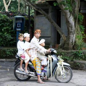 バリ島でのバイクの交通ルール・運転方法