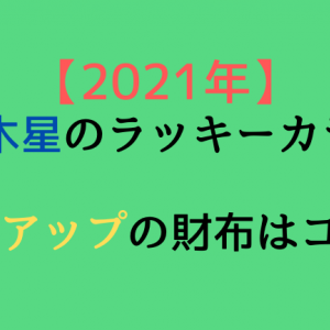 2021年 四緑木星のラッキーカラーは!!金運アップの財布はコレ!!