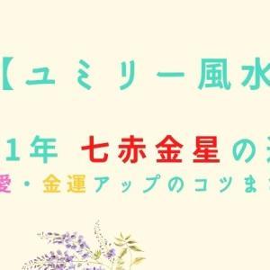 ユミリー風水 2021年の七赤金星の運勢!恋愛・金運アップのコツまとめ!