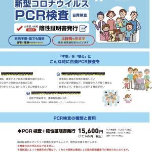 英国入国準備①国内PCR検査の予約