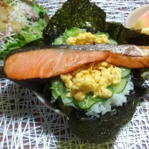 週末の朝食vol.21  ☆シャケナベイベー☆