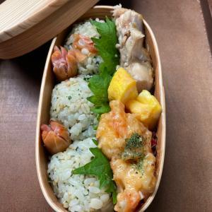iPhone12で撮影したおにぎり弁当と宮本さんのROMANCE