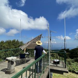 7月18日(日):石川県金沢市 医王山三千坊展望台(標高:789.5m)から「第4回ホクリク・デジコミーティング」を開催いたしました!