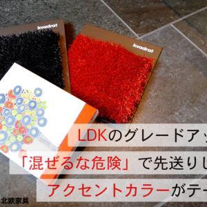 LDKのグレードアップ①「混ぜるな危険」先送りしたアクセントカラーがテーマ