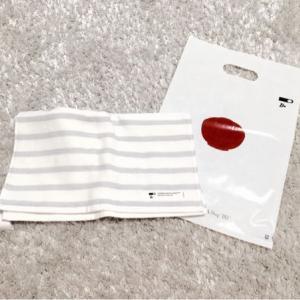新しい洗面所のタオル
