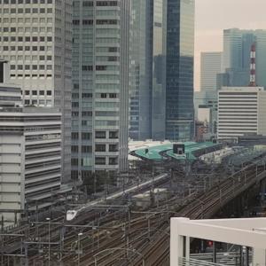 JR東京駅から出てくる電車たち