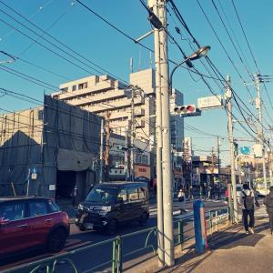 JR埼京線 十条駅 北口, バス通り