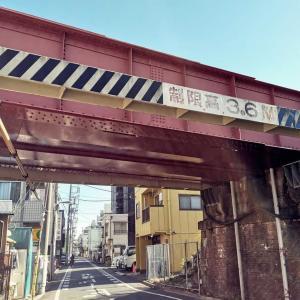 JR越中島支線(総武本線の貨物支線) 竪川橋梁
