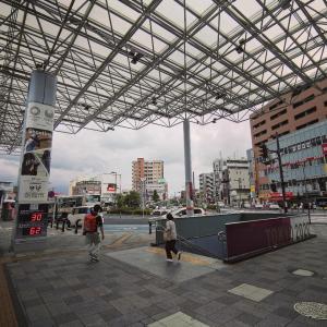 東武東上線 朝霞駅 構内と南口