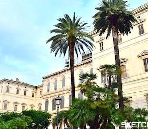 バロック建築の芸術作品バルベリーニ宮