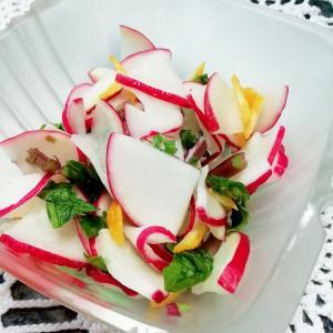 【さっぱり料理】無農薬赤大根の柚子漬け