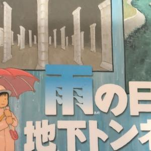 「雨の日の地下トンネル」(鎌田歩/アリス館)感想レビュー 排水溝から排水機場、地下放水路そして海へ 雨の流れを知る科学絵本