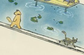 「ネコのみち」(うちむらたかし/クレヨンハウス)感想レビュー 散歩するネコはどこを歩いてどこへいくのかな?
