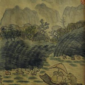 2020.12個展作品紹介ー07、ヴァンロン自然保護区、ベトナム。