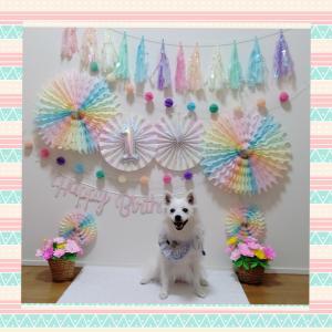 つな♡Happy Birthday♡1歳
