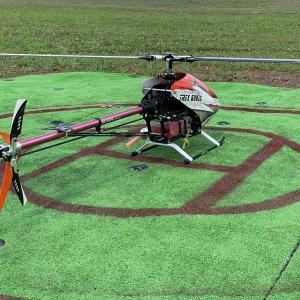 2021年7月24日の飛行場 T-REX600N