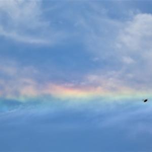 天赦日と一粒万倍日の大吉日に現れた縁起のいい彩雲