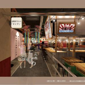 札幌駅そばにデカイ飲み屋街【札幌つなぐ横丁】12/4グランドオープン