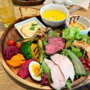 大通で野菜たっぷりランチ【シティーボーイ】