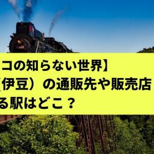 【マツコの知らない世界】駅弁(伊豆)の通販先や販売店!買える駅はどこ?