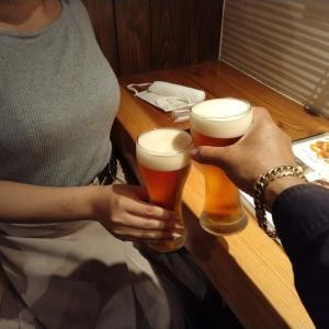 NIGHT OF THE 生ビール。
