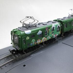 02:Bトレインショーティー熊本電鉄5000形(元東急5000形) ケロロ軍曹ラッピング車をNゲージ化してみた。