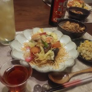 12/5  ¥748 *皿うどんと麻婆豆腐*