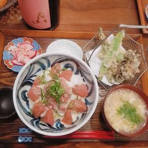 12/12  ¥810 *天ぷらとネギトロまぐろとろろ丼*