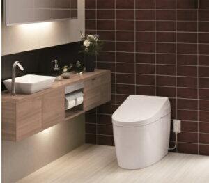 最新TOTOショールームで60万円超えの高級トイレ