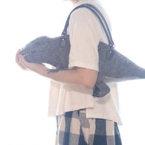 ティラノサウルスバッグ ななめにもかけれますのだ