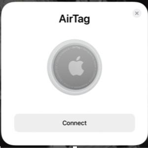 Apple AirTag を買ってみた