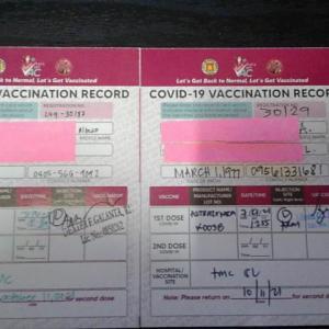 フィリピンでアストラゼネカを接種